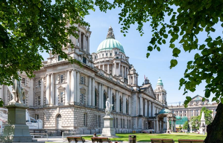 Belfast City Hall, the capital of Northern Ireland
