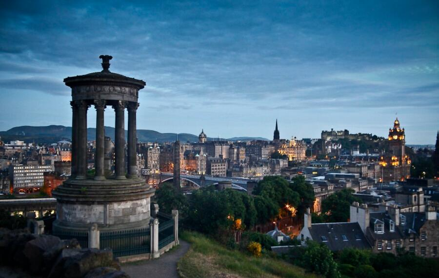 Edinburgh, capital of Scotland