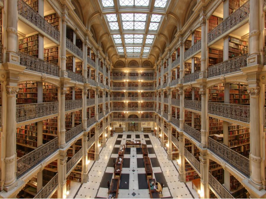George Peabody Library - Johns Hopkins University