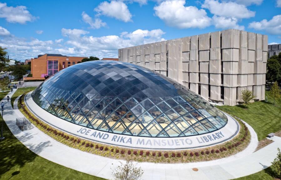 Joe & Rika Mansuet Library - University of Chicago