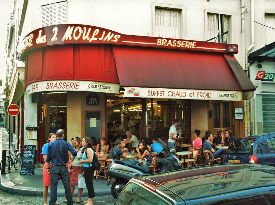 Le Café des deux Moulins
