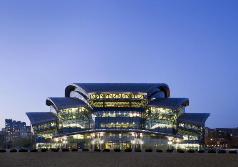 Main library of Sungkyunkwan University