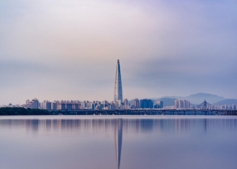 Seoul - the capital of South Korea is one of the largest cities in the world
