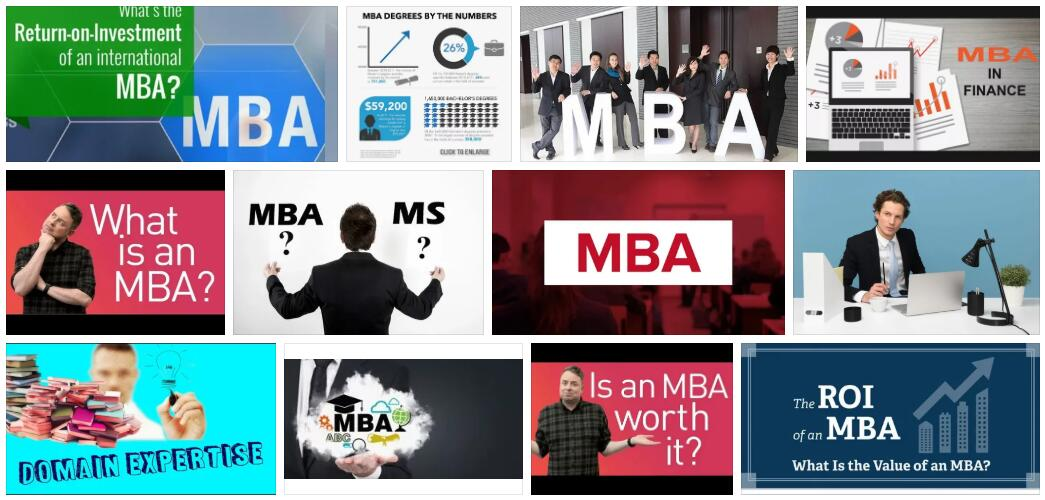 What is the Return on an MBA