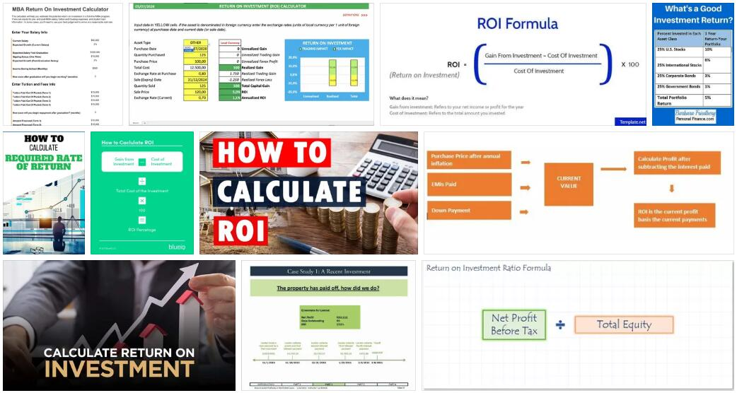 How to calculate Return on Investment in an MBA